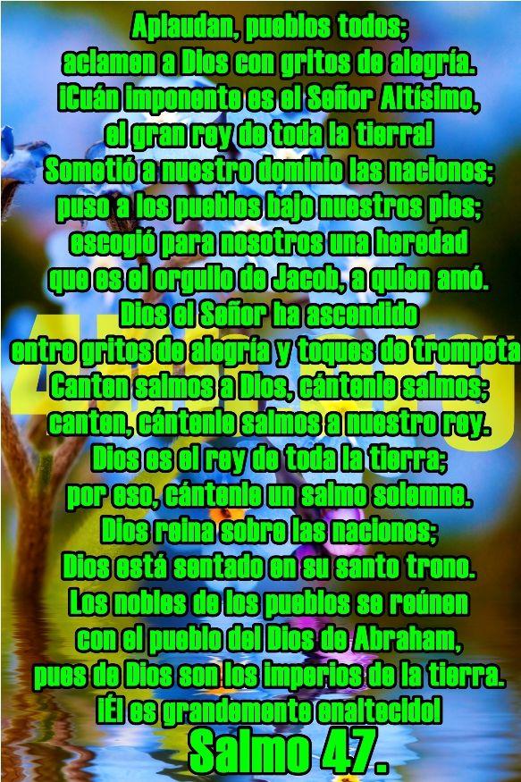 Versiculos Diarios De La Biblia 3 682x1024 Salmo 47 Con Gritos De